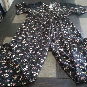 Girls pants romper